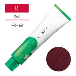 Lebel Краска для волос Materia G Тон R8 - Светлый блондин красный 120 гр.