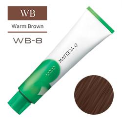 Lebel Краска для волос Materia G Тон WB8 - Светлый блондин теплый 120 гр.