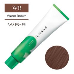 Lebel Краска для волос Materia G Тон WB9 - Очень светлый блондин теплый 120 гр.