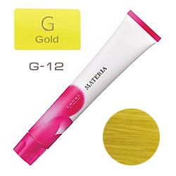 Lebel Краска для волос materia G12 - Супер блондин жёлтый 80 гр