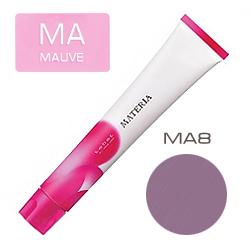 Lebel Краска для волос Materia Grege&Mauve - MA8, 80 гр