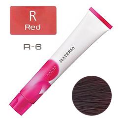 Lebel Краска для волос materia R6 - Тёмный блондин красный 80 гр