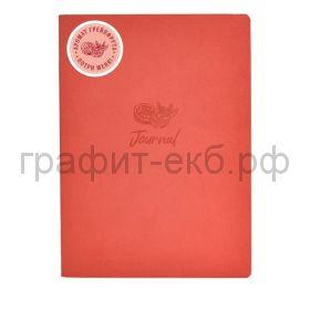 Книжка зап.Феникс+ А5+ ШАГРЕНЬ с ароматом грейпфрут красный 60л. клетка 52902
