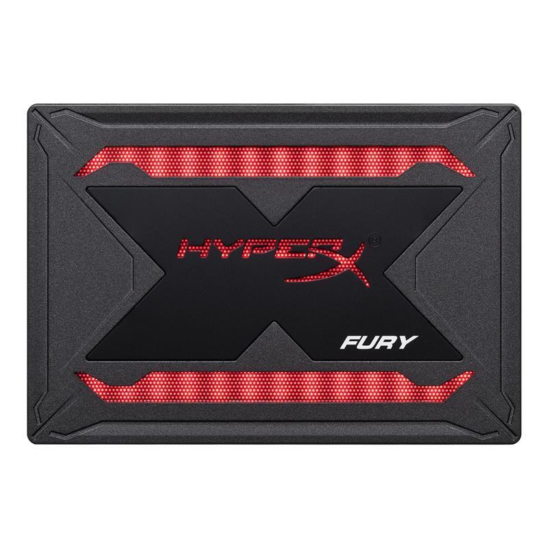 """Накопитель SSD  960GB Kingston HyperX Fury RGB 2.5"""" SATAIII 3D TLC (SHFR200B/960G) Upgrade Kit"""