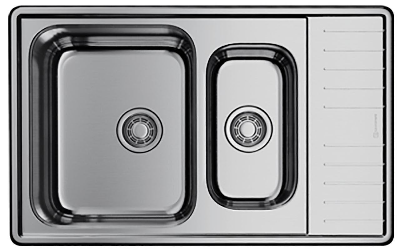 Мойка кухонная Omoikiri Sagami 79-2-IN нержавеющая сталь 4993733 ФОТО