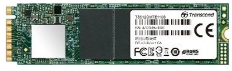 Накопитель SSD  256GB Transcend MTE110S M.2 2280 PCIe 3.0 x4 3D TLC (TS256GMTE110S)
