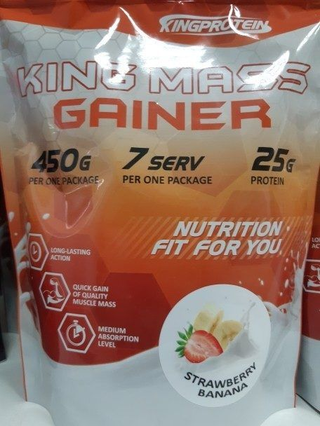 KING MASS GAINER 450 гр