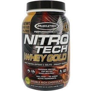 Muscletech Nitro Tech Whey Gold  1кг