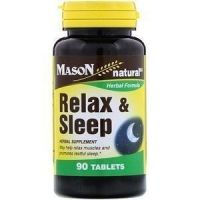MANSON NATURAL RELAX & SLEEP 90 ТАБ
