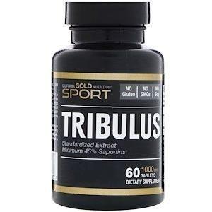 CALIFORNIA GOLD NUTRITION TRIBULUS 1000 60 ТАБ