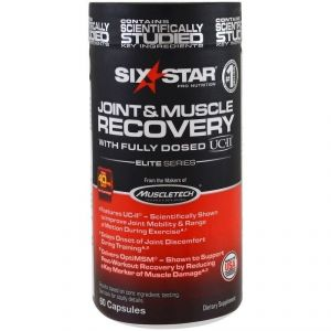 SIX STAR JOINT & MUSCLE RECOVERY 60 КАПС