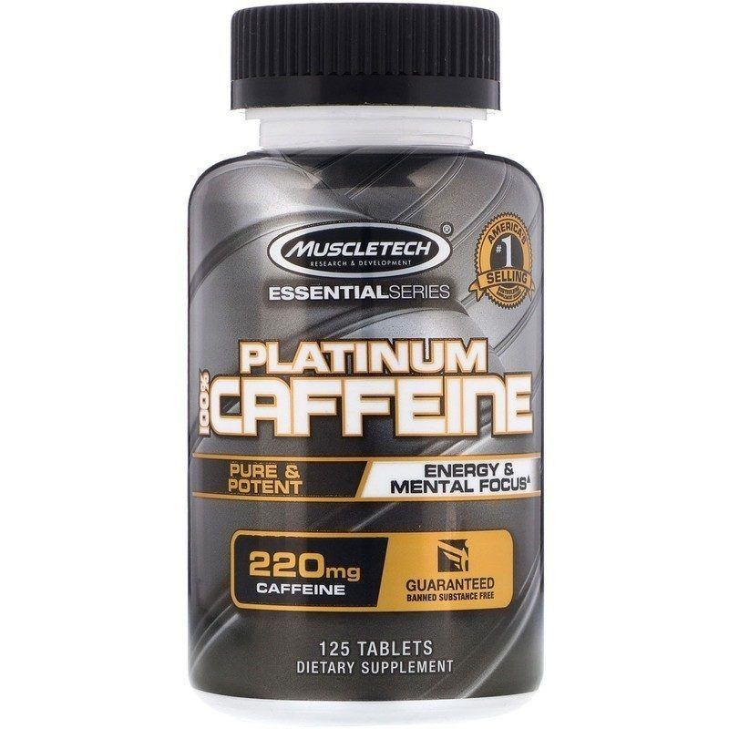 Muscletech Coffeine 220 мг 125 табл
