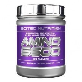 SCITEC NUTRITION AMINO 5600  200 табл.