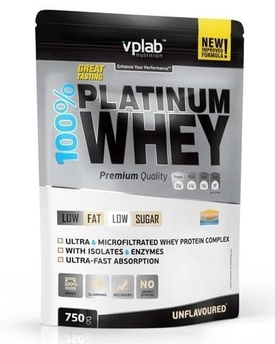 VP Lab 100% Platinum Whey 750 гр