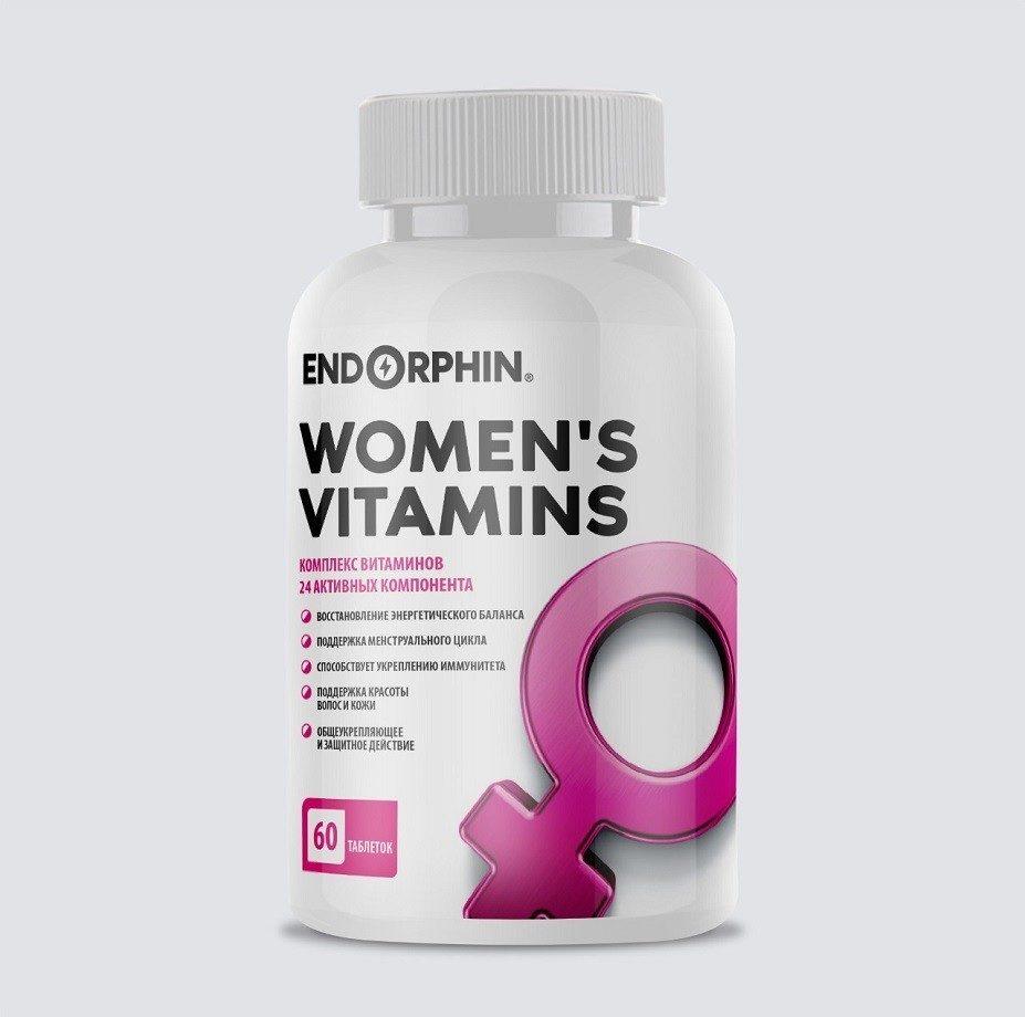 ENDORPHIN WOMEN'S VITAMINS 60 табл