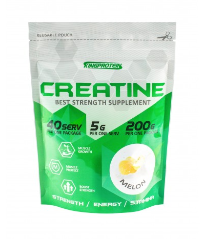 KING CREATINE MONOHYDRATE 200 ГР