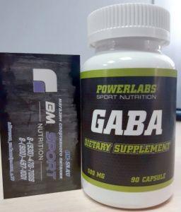 Powerlabs GABA 500 mg 90 капс