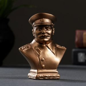 Бюст Сталин бронза, мраморная крошка 5167977