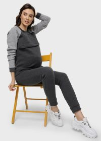 """Костюм утепл. """"Кёльн"""" для беременных и кормящих; антрацит"""