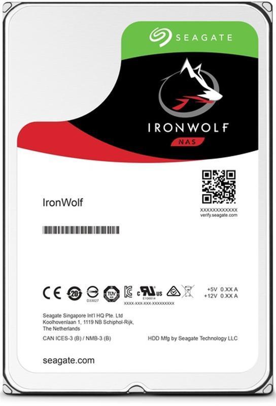 Накопитель HDD SATA 2.0TB Seagate IronWolf Pro NAS 7200rpm 128MB (ST2000NE0025)
