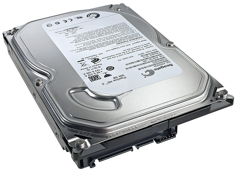 Накопитель HDD SATA  500GB Seagate 5900RPM 8MB (ST3500312CS_V_) Refurbished