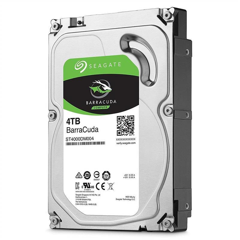 Накопитель HDD SATA 4.0TB Seagate BarraCuda 256MB (ST4000DM004)