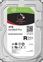 Накопитель HDD SATA 4.0TB Seagate IronWolf Pro NAS 7200rpm 256MB (ST4000NE001)