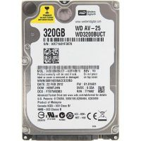 "Накопитель HDD 2.5"" SATA 320GB WD AV-25 5400rpm 16MB (WD3200BUCT) Refurbished"