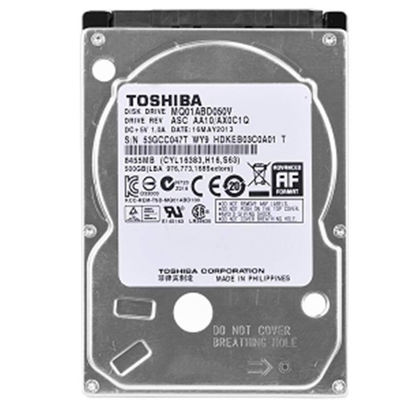 "Накопитель HDD 2.5"" SATA  500GB Toshiba 5400rpm 8MB (MQ01ABD050V) Refurbished"
