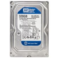 Накопитель HDD SATA  320Gb WD, 8Mb, Caviar Blue (WD3200AAJS) Refurbished