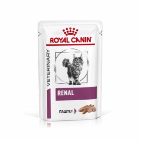 Роял канин Ренал паштет для кошек (Renal loaf) пауч 85г.