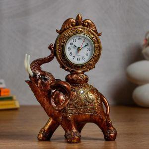 """Часы настольные """"Слон"""" d=6 см, 1 ААА, дискретный ход   5060059"""