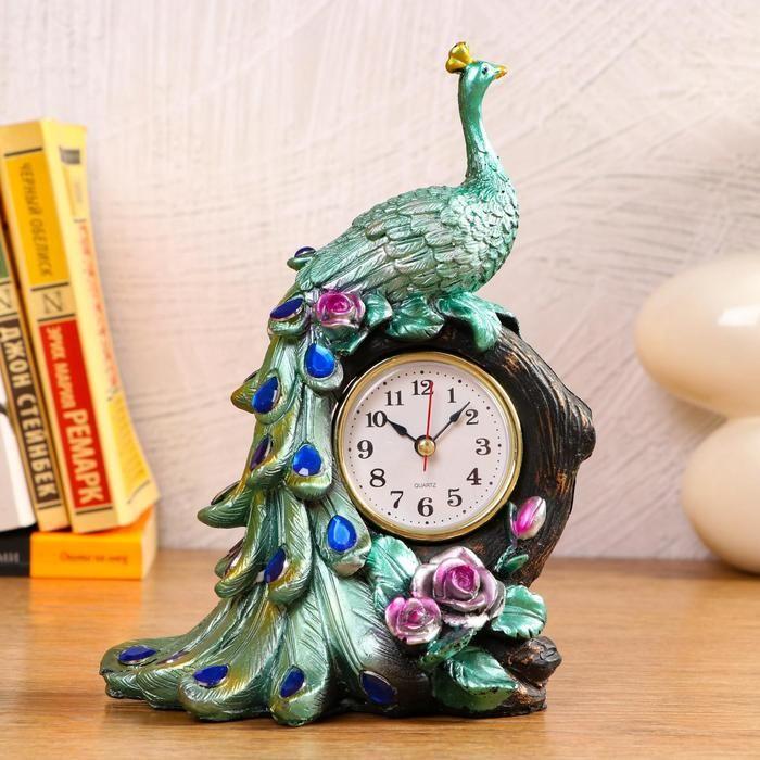 """Часы настольные """"Фламинго"""" d=6 см, 1 АА, дискретный ход   5060060"""