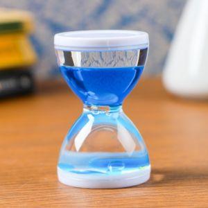"""Гелевые песочные часы """"Бордерия"""", на 1 минуту, 7,5 х5 см, микс 1446273"""