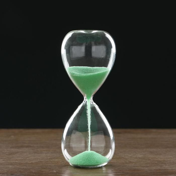 Часы песочные, флуоресцентный песок 6.5х16 см   5089949