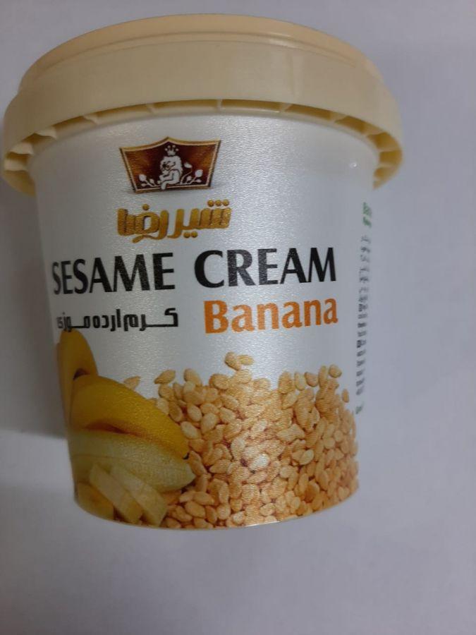 Кунжутный крем  с бананом 200 мл