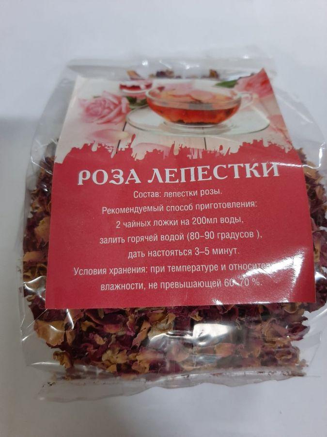 Роза лепески уп 50 гр