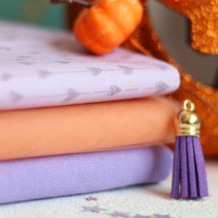 Набор тканей для пошива Сиреневая ведьмочка