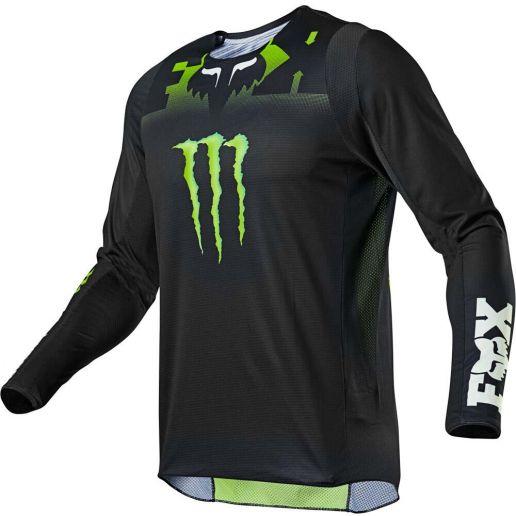 Fox 2021 360 Monster Black джерси для мотокросса