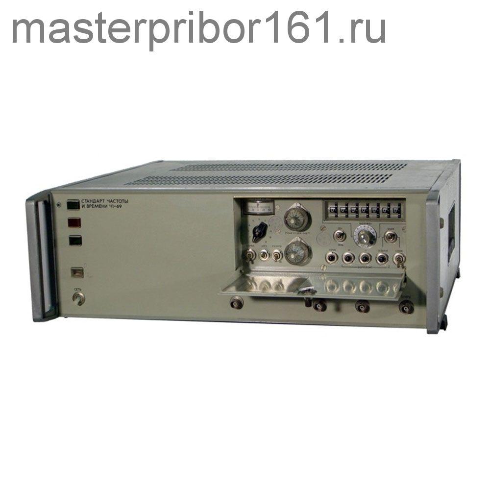 Стандарт частоты и времени Ч1-68