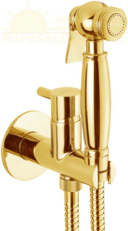 Гигиенический душ со смесителем Webert Elio EL870302010 ФОТО