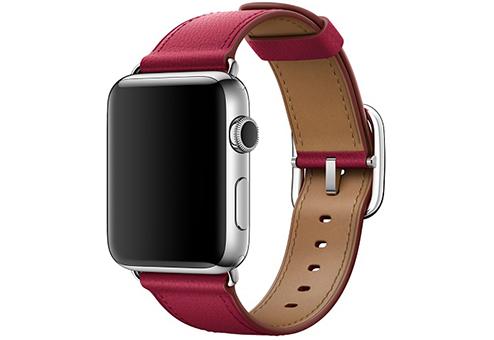 Ремешок Apple Watch 42мм с классической пряжкой «лесная ягода»