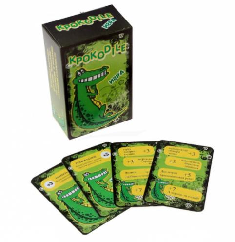 Крокодил - самая популярная игра для компании