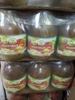 Сок в стеклянной банке 2л Таджикистан яблоко