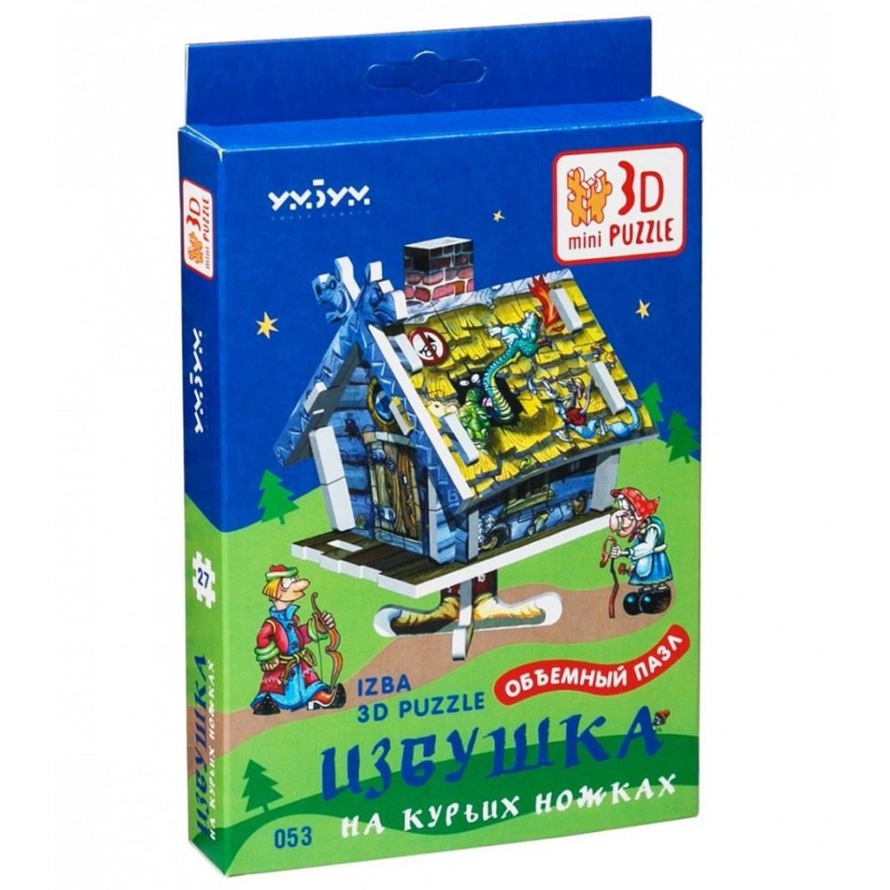 """УмБум053 """"Избушка. 3D-mini puzzle"""""""