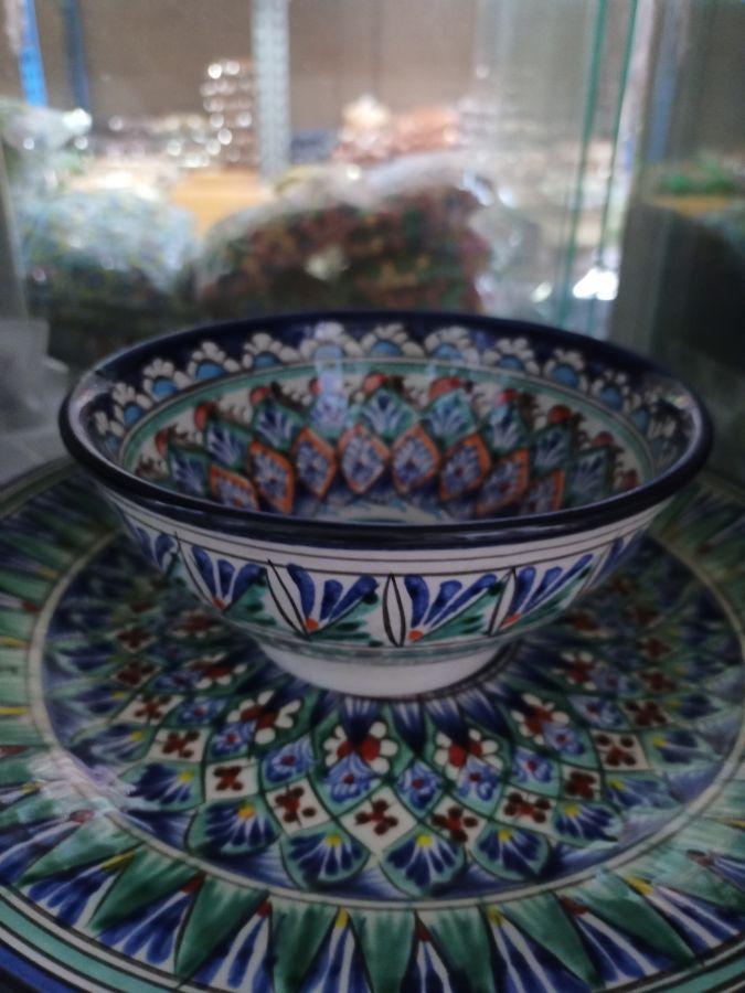 Суповая тарелка роспись