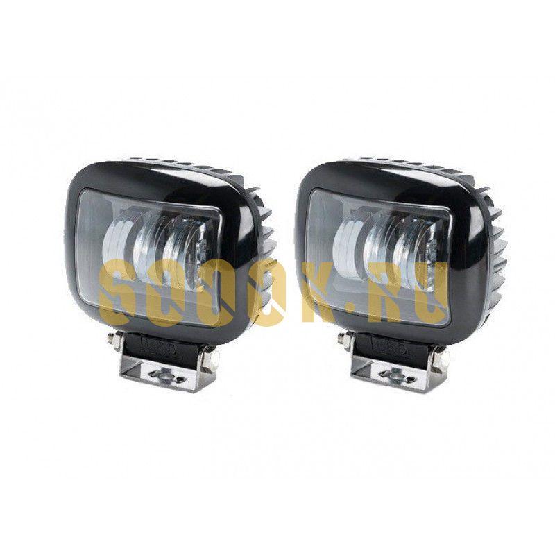 Светодиодные фары дополнительного света комплект 60 Вт