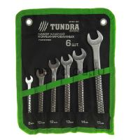 Набор ключей комбинированных усиленных в сумке TUNDRA, 8 - 17 мм, 6 шт.