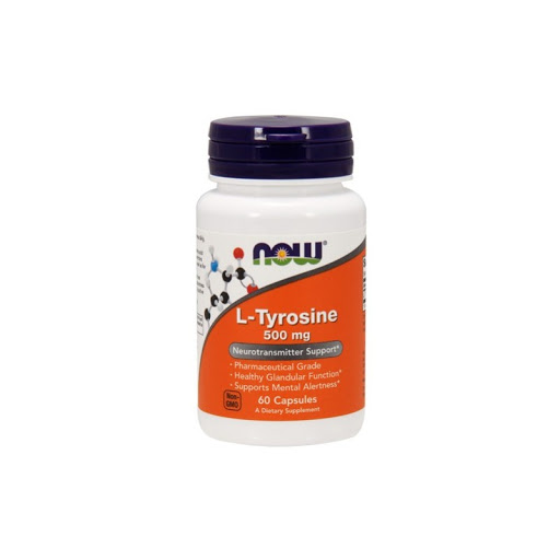 NOW - L-Tyrosine 500 mg