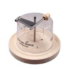 Жироль нож Girolle Original для нарезки сыра из клёна с колпаком - 23 см (Швейцария)